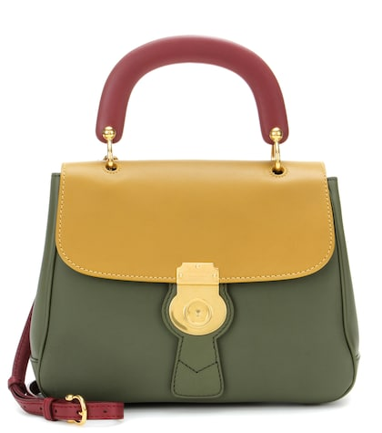 The Trench Leather Top Handle Bag