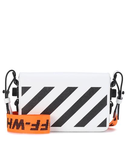 Exclusive to mytheresa.com - Binder Clip leather shoulder bag