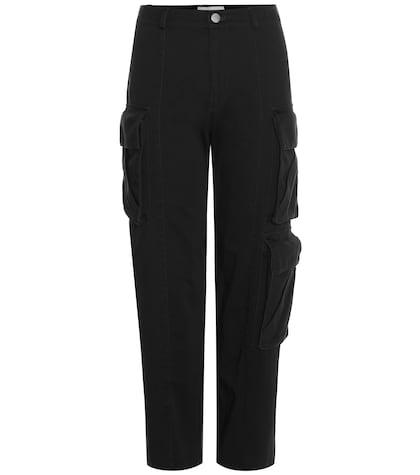 Pantalon cargo court en coton Chisum