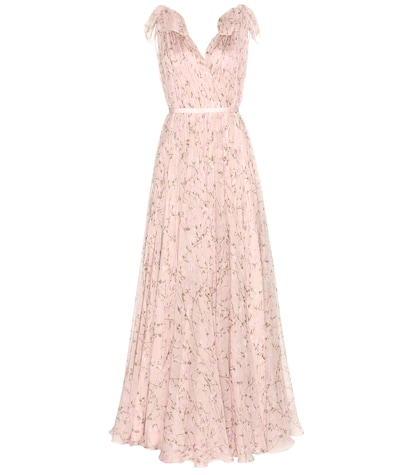 alexander mcqueen female 243279 printed silk dress