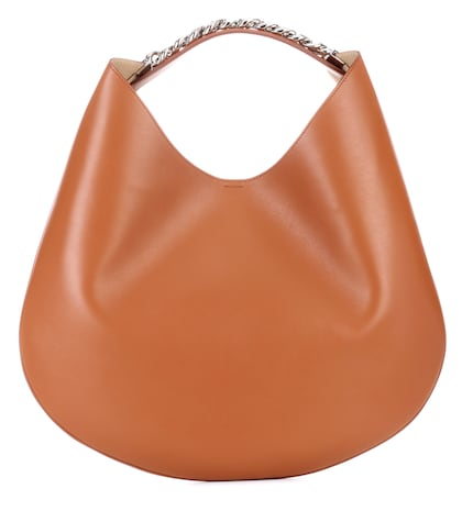 Infinity Hobo leather handbag
