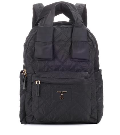 marc jacobs female nylon knot large backpack