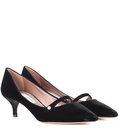 Layton velvet pumps