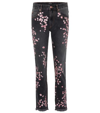 Holan embroidered jeans