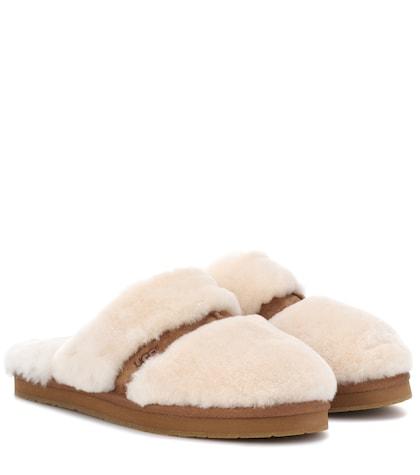 Dalla shearling slippers