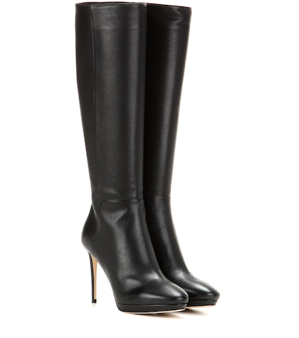 Hoxton 100 Knee-high Leather Boots