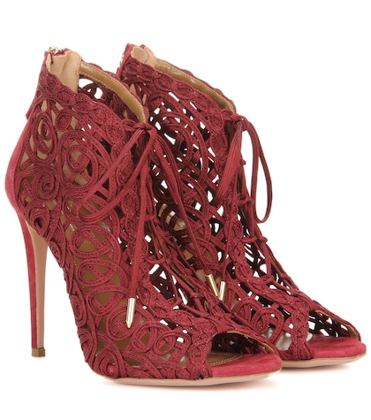 aquazzura female kya bootie sandals