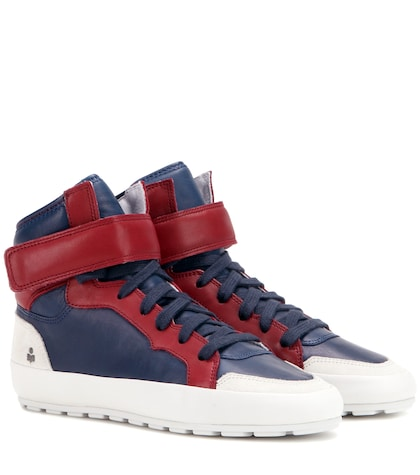 Étoile Bessy leather sneakers