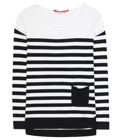 Antony Striped Cotton And Cashmere Sweater