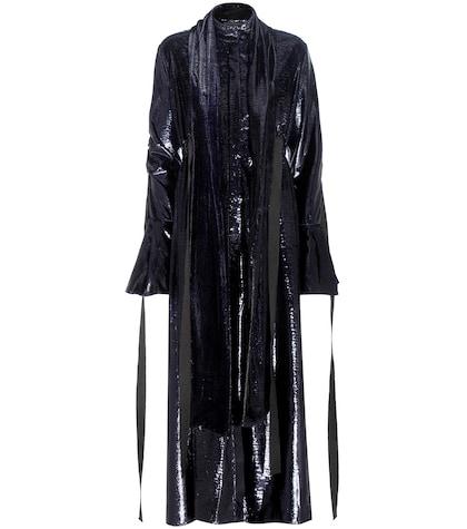Posture Velvet Dress
