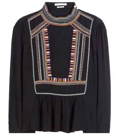 Cerza embroidered blouse
