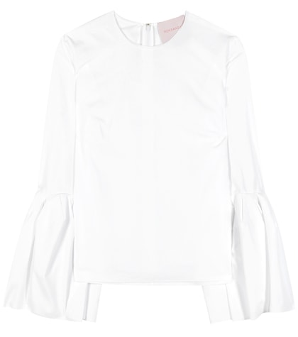 roksanda female truffaut cotton top