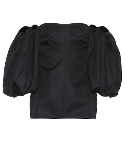 Countess cotton corset top