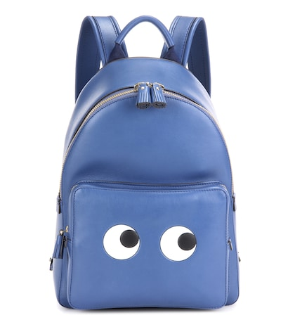 Eyes Right Mini leather backpack