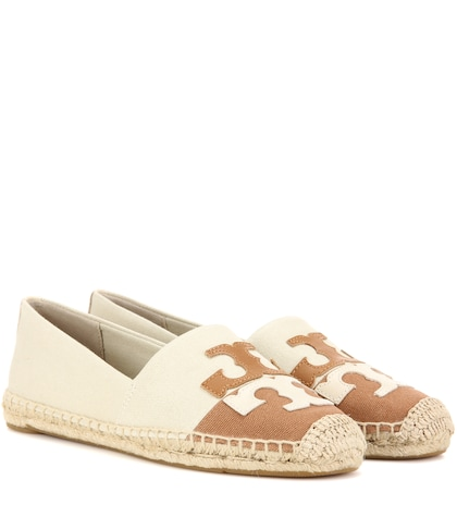 Jamie Canvas Espadrilles by Tory Burch