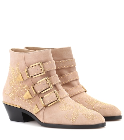 Susanna suede ankle boots