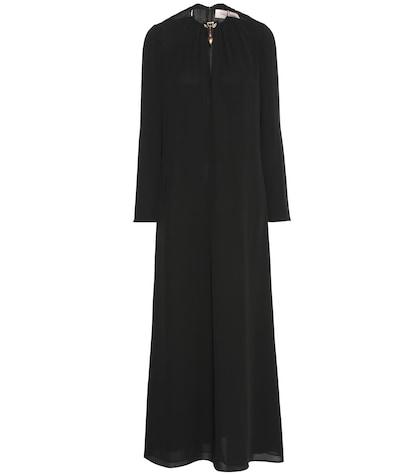 Silk Georgette Maxi Dress