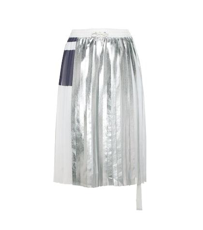 Blaise metallic skirt
