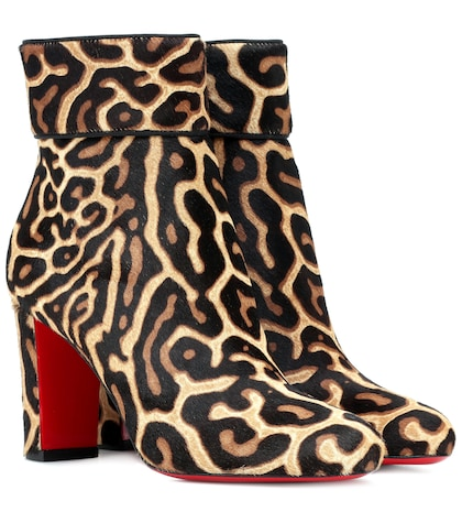 Moulamax 85 calfhair ankle boots
