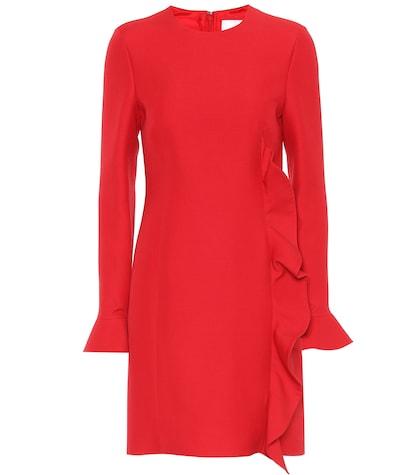 Virgin wool and silk dress