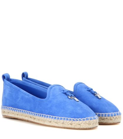 My Charms suede espadrilles