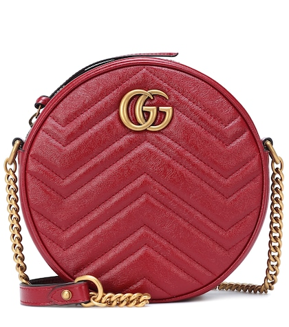141a7750a Gg Marmont Mini Leather Shoulder Bag | Gucci - mytheresa