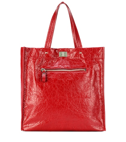 Valentino Garavani leather shopper