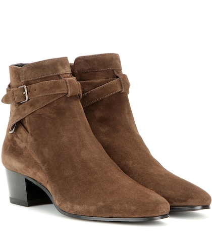 Blake 40 Jodhpur Suede Ankle Boots