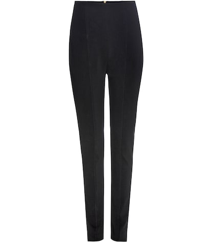 balmain female stretch trousers