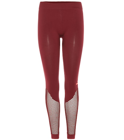 adidas by stella mccartney female mesh leg leggings
