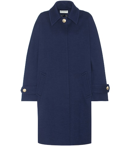 Classic Cocoon oversized wool coat