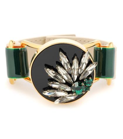 marni female crystal embellished bracelet