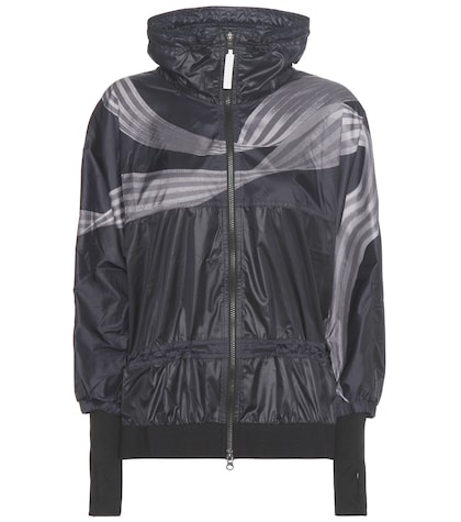 adidas by stella mccartney female 188971 run striped jacket