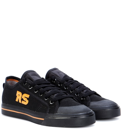 adidas by raf simons female spirit low canvas sneakers