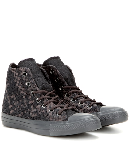 Chuck Taylor All Star Woven High-top Sneakers