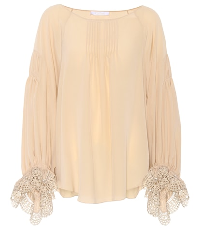 Exclusive to mytheresa.com – silk blouse