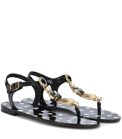 Embellished sandals