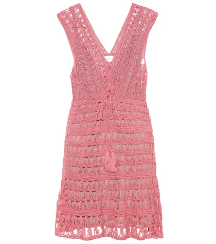 Jennifer cotton crochet dress