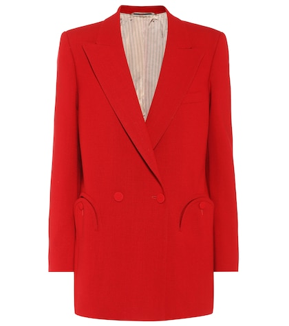 Cool & Easy Red wool blazer