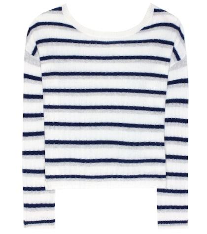 Calanta Striped Cashmere Sweater