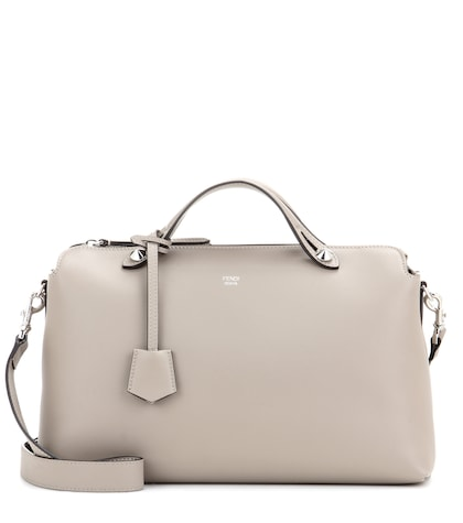 fendi female by the way leather shoulder bag