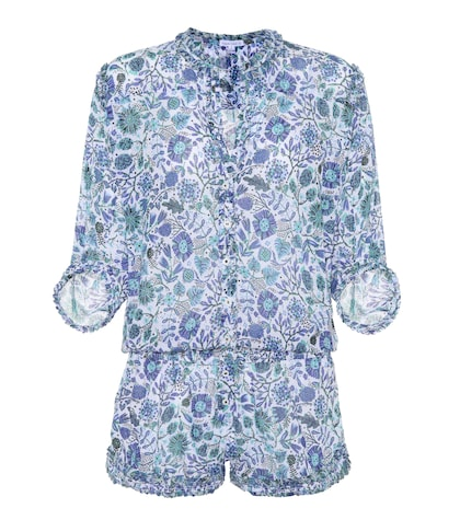 Alicia printed playsuit