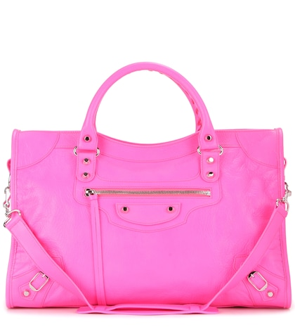 balenciaga female classic city leather tote