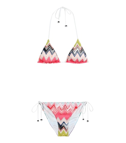 Crochet-knit Bikini