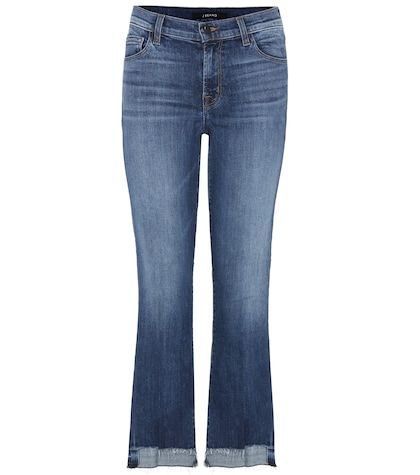 j brand female selena crop jeans
