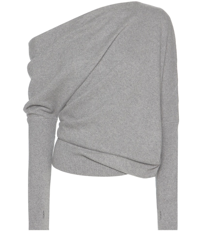 Asymmetrical Cashmere Sweater