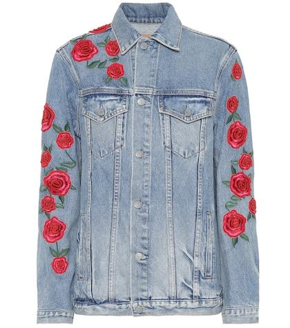 Daria embroidered denim jacket