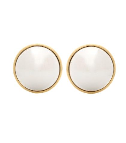 balenciaga female clipon earrings
