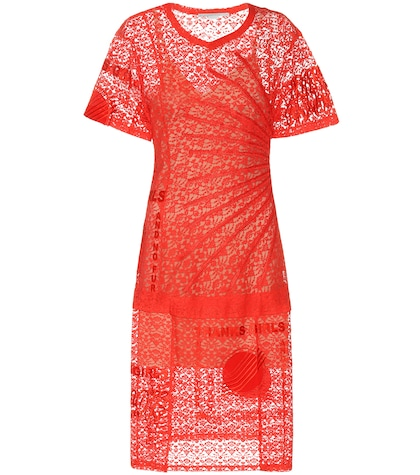 stella mccartney female carlotta lace dress