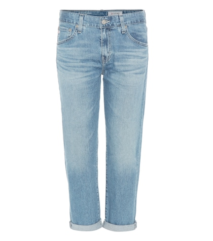 ag jeans female the exboyfriend slim cropped jeans
